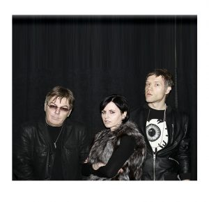 April 5, 2016 - Shoot with DARK the band featuring Dolores O'riordan of The Cranberries, Andy Rourke of The Smiths and DJ Ole Koretsky credit Jen Maler
