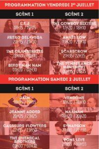2016.07.01 schedules