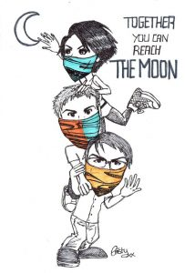 2016.09.06 The Moon Cristy fanart