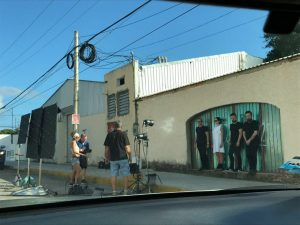 1810f4b028 A non professional and behind the scenes photo surfaced today posted by  Cesar Enrique Vera on his Facebook account who just was at the right place  on the ...